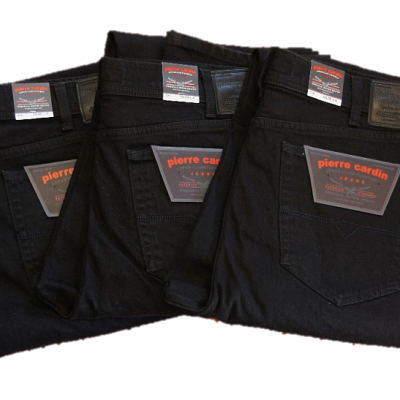 Jeans-PC-schwarz