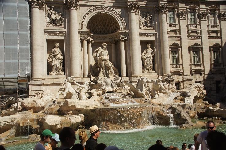 Neptun im Fontana Trevi