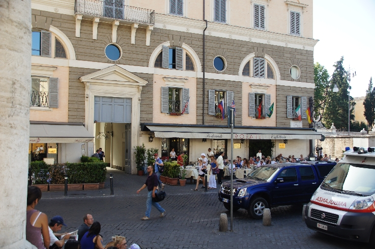 Caffe Rosati neben Piazza del Popolo