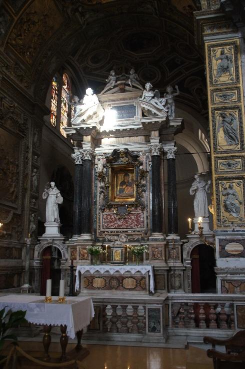 Hochaltar Santa Maria del Popolo