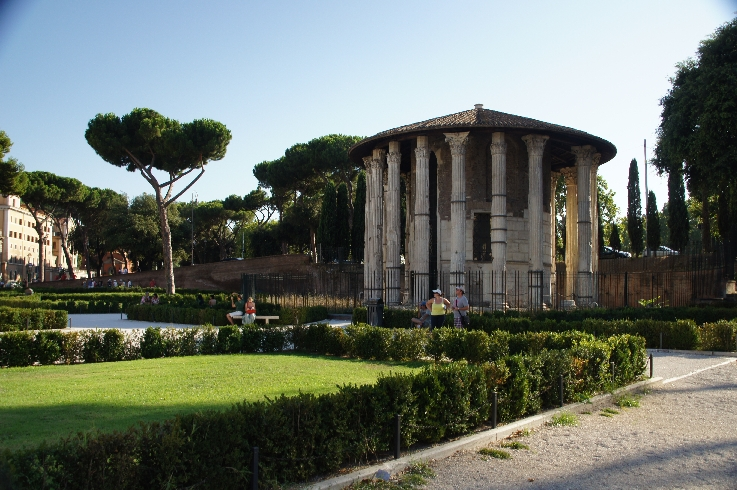 Tempel des Hercules Victor