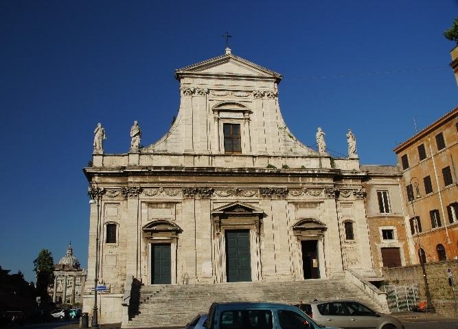"""Maria Trost Kirche"" direkt hinter dem Forum Romanum"