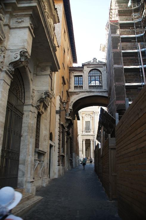 Auf dem Weg zum Capitolina