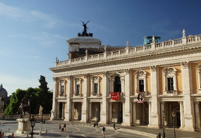 Palazzo Nuovo auf dem Capitolino