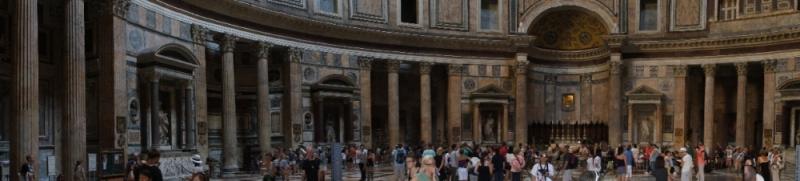 noch ein anderes Panorama aus dem Pantheon