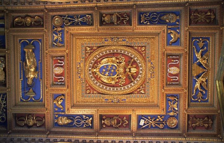 Die Decke der Basilika