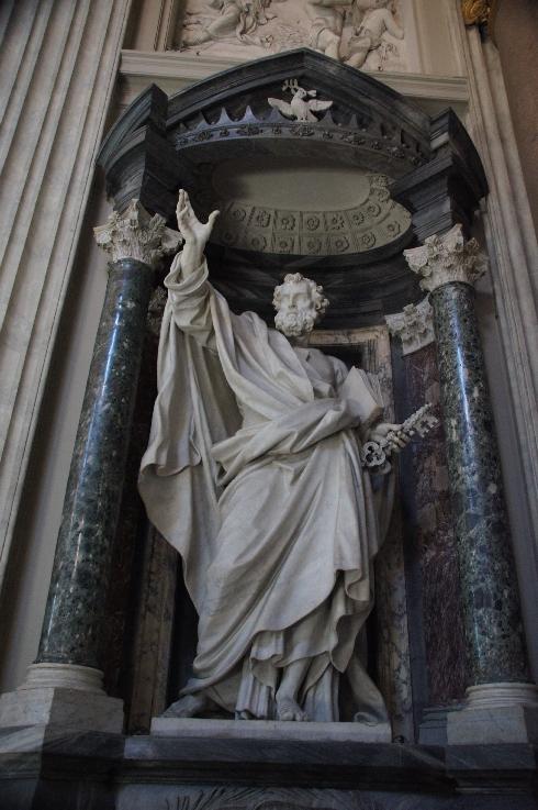 Apostel Petrus Bildhauer: Pierre-Étienne Monnot (erstellt: 1704-1711)