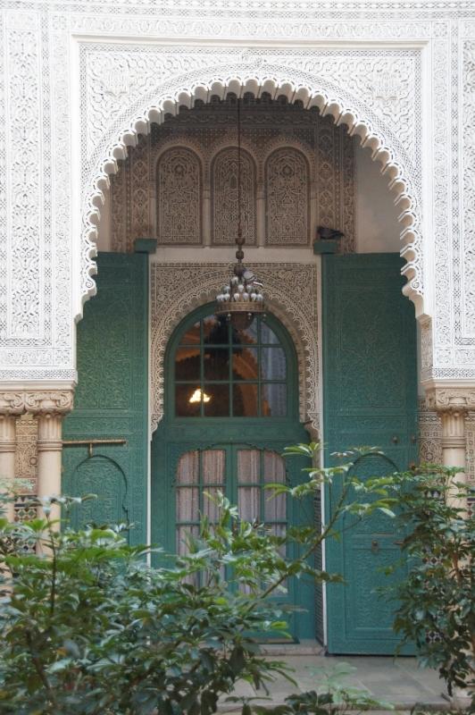 Eingangstür zum Mahakma