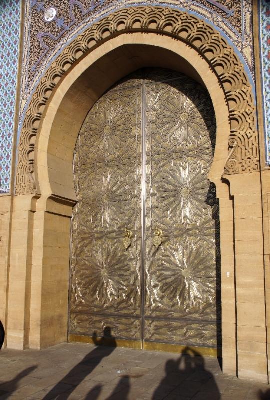 Goldenes Tor zum königlichen Palast