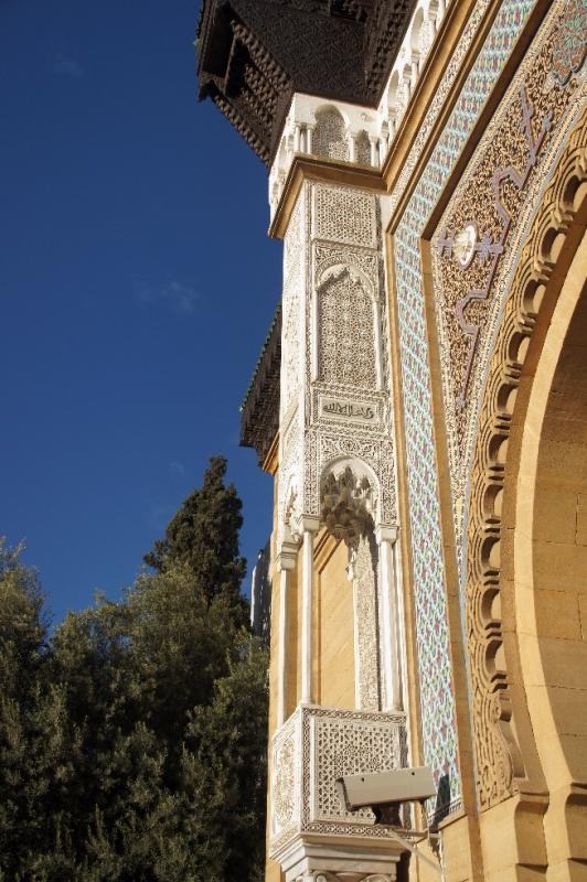 Muster an Säulen des königlichen Palastes
