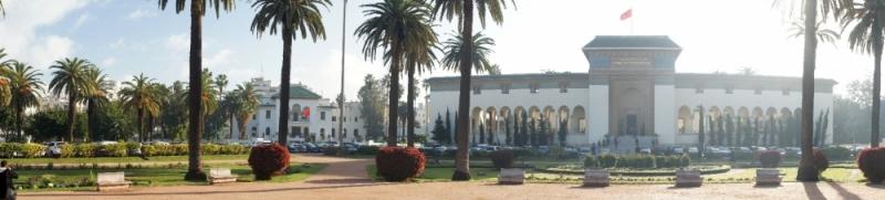 Justizpalast und Place Mohammed V.
