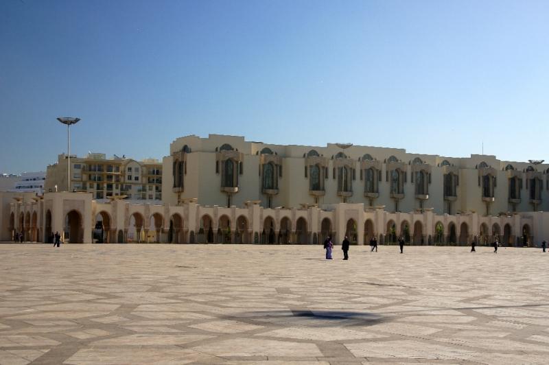 seitlicher Komplex der Moschee