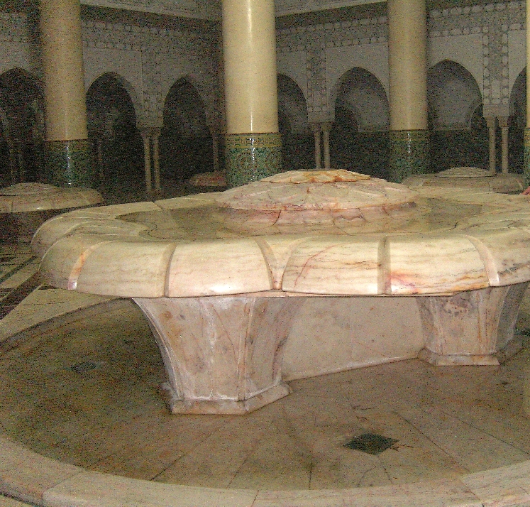 Waschbecken zur rituellen Waschung