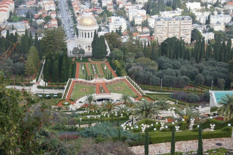 Die Bahai Gärten