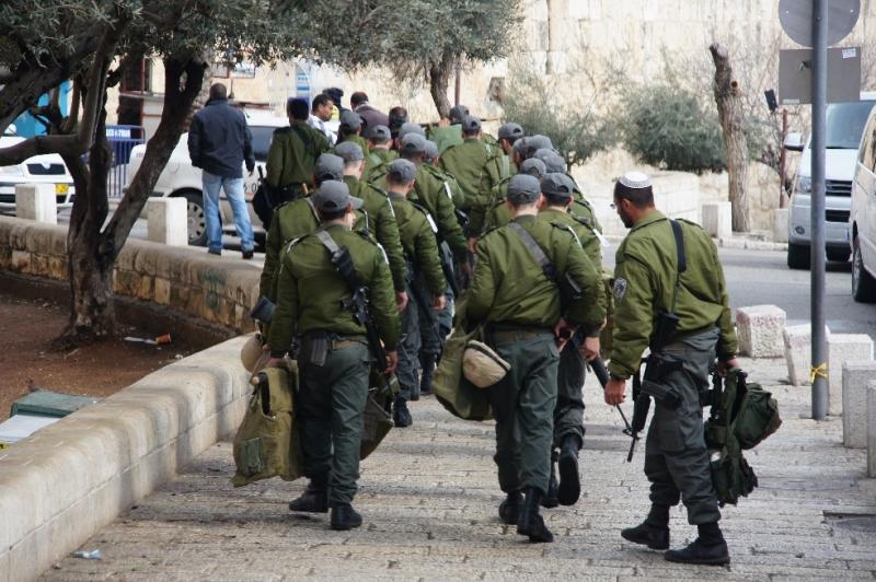 Armee in Jerusalem