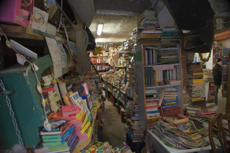 Buchhandlung in Venedig
