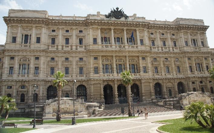 Palazzo Giustizia der Justizpalast