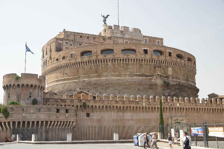 Castel Sant' Angelo oder die Engelsburg