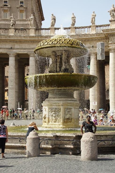 Brunnen von Maderno 1613 aufgestellt