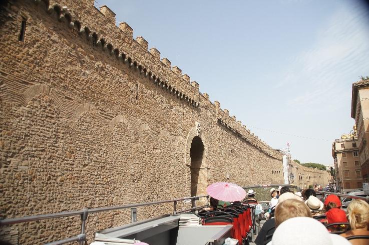 Passetto die Borgo - Der Geheimgang vom Vatikan nach Rom