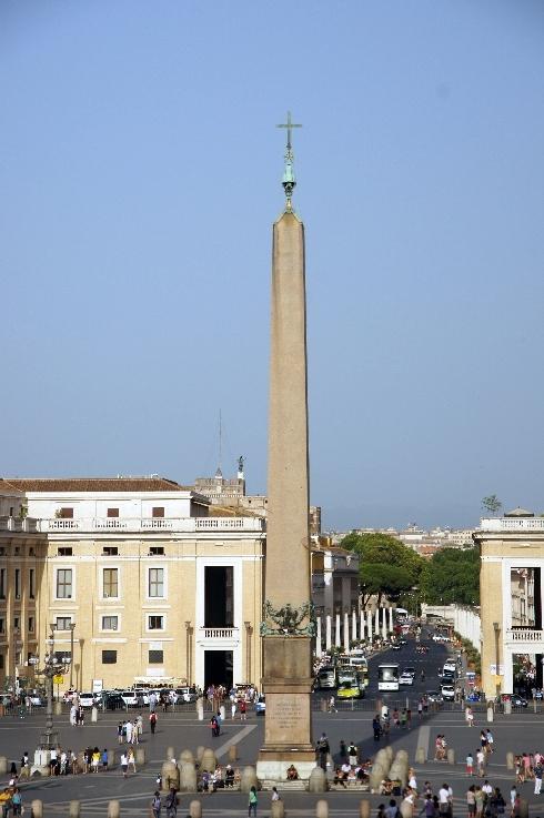Der Obelisk auf dem Petersplatz