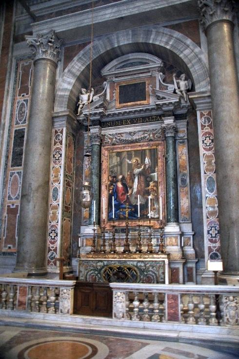 Altar des Sankt Gregor Magnus
