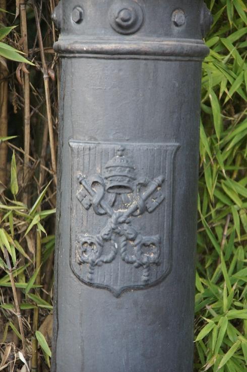 Offizielles Wappen des Vatikans