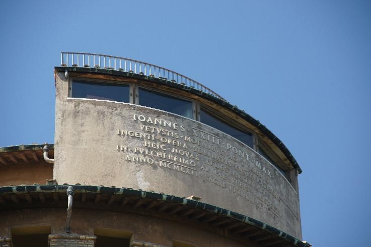 Inschrift Johannesturm