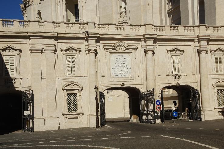 Haupteingang zum Vatikan
