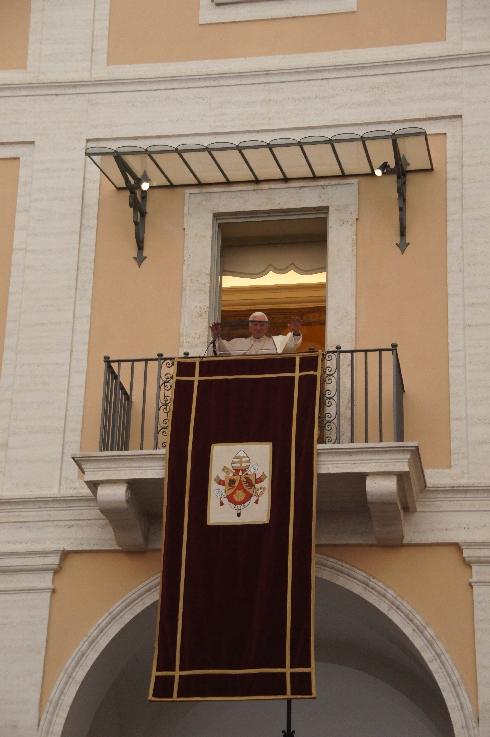 Endlich auf dem Balkon