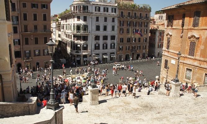 Der Treffpunkt in Rom