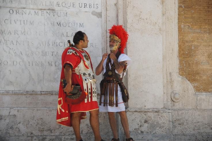 Schön anzusehen, die antiken Römer