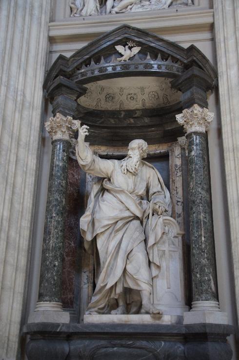 Apostel Andreas Bildhauer: Pierre Le Gros (erstellt: 1705-1711)