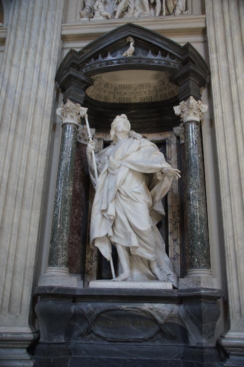 Apostel Jakobus der Ältere Bildhauer: Camillo Rusconi (erstellt: 1715-18)