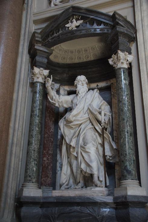 Apostel Paulus Bildhauer: Pierre-Étienne Monnot (erstellt: 1704-1708)