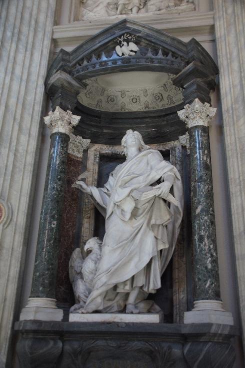 Apostel Johannes Bildhauer: Camillo Rusconi (erstellt: 1705-1711)