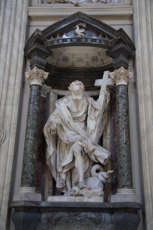 Apostel Philippus Bildhauer: Giuseppe Mazzuoli (erstellt: 1705-1711)
