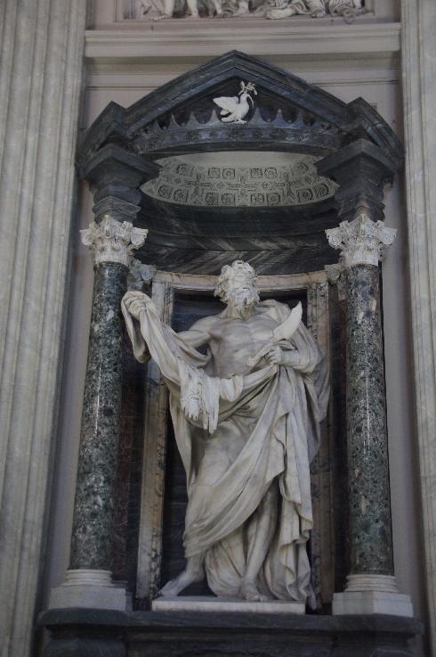 Apostel Bartholomäus Bildhauer: Pierre Le Gros (erstellt: 1705-1711)