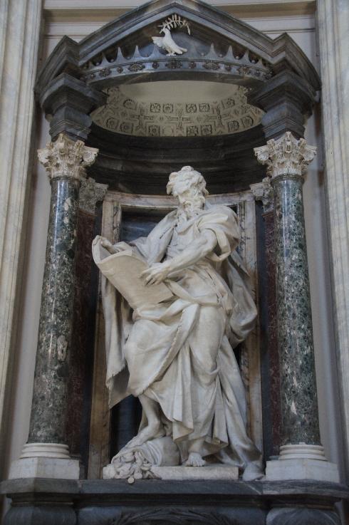 Apostel Johannes Bildhauer: Camillo Rusconi (erstellt: 1711-1715)
