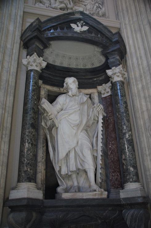 Apostel Johannes Bildhauer: Francesco Moratti (erstellt: 1704-09