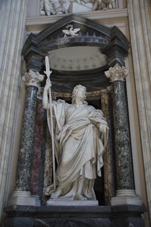 Apostel Thaddäus Bildhauer: Lorenzo Ottoni (erstellt: 1704-1709)