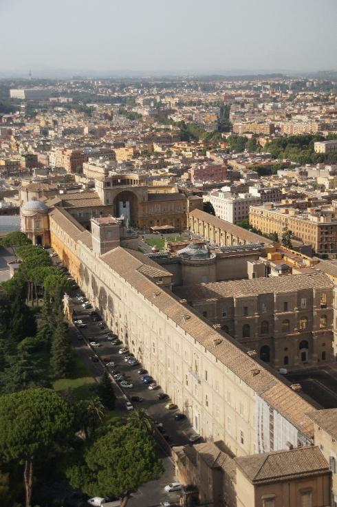 Vatikanische Museen endlos lang