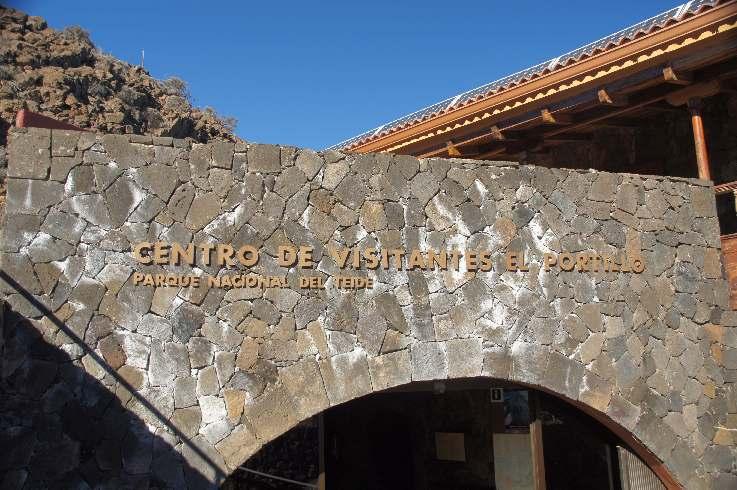 Besucherzentrum auf halber Höhe zum Teide