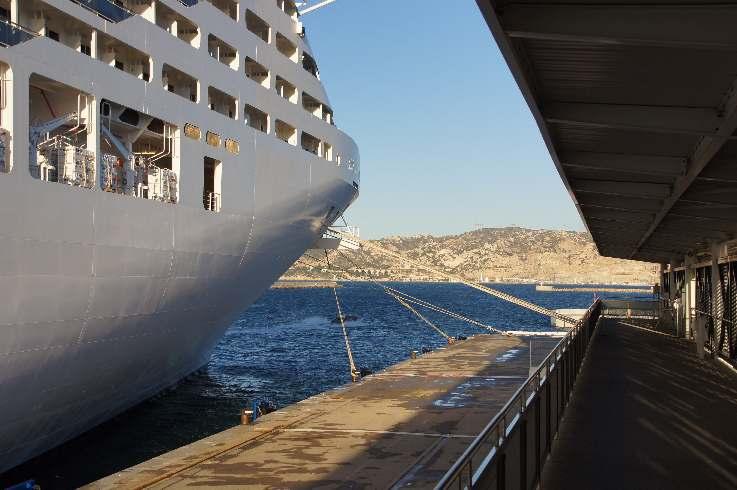 Mit der Splendida in Marseille