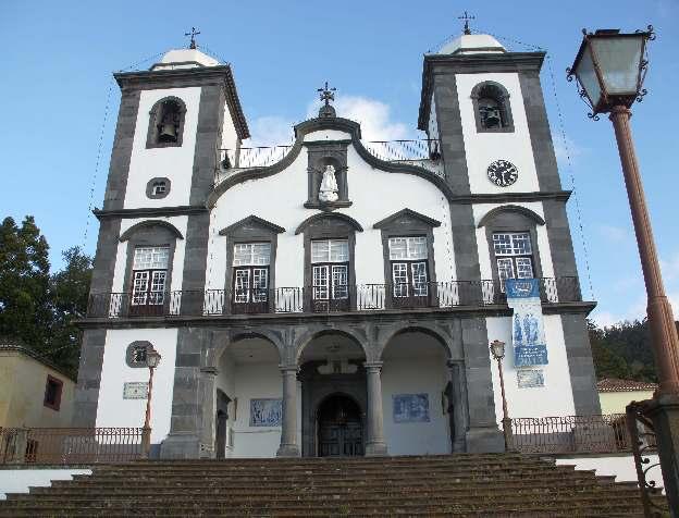 Nossa Senhora do Monte ist eine katholische Wallfahrtskirche in Monte auf Madeira