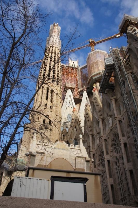 Bilder der Sagrada Familia finden Sie auf einer Sonderseite.