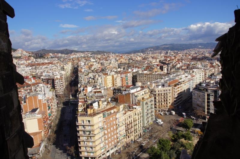 Und noch einmal Barcelona von oben