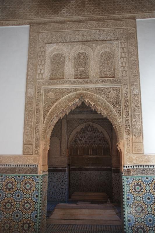 Die Saadier-Gräber wurden Ende des 16. Jahrhunderts im Süden der Medina angelegt.