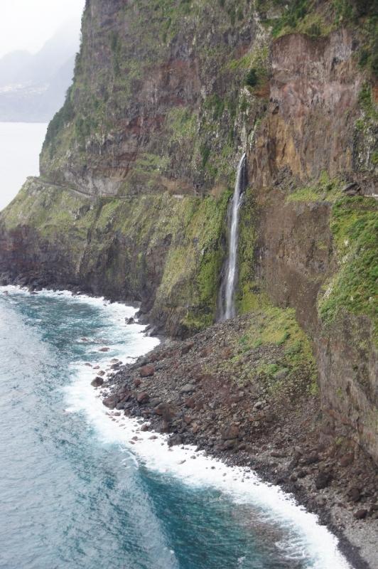 Brautschleier Wasserfall. Wenig Wasser zu unserer Reisezeit.
