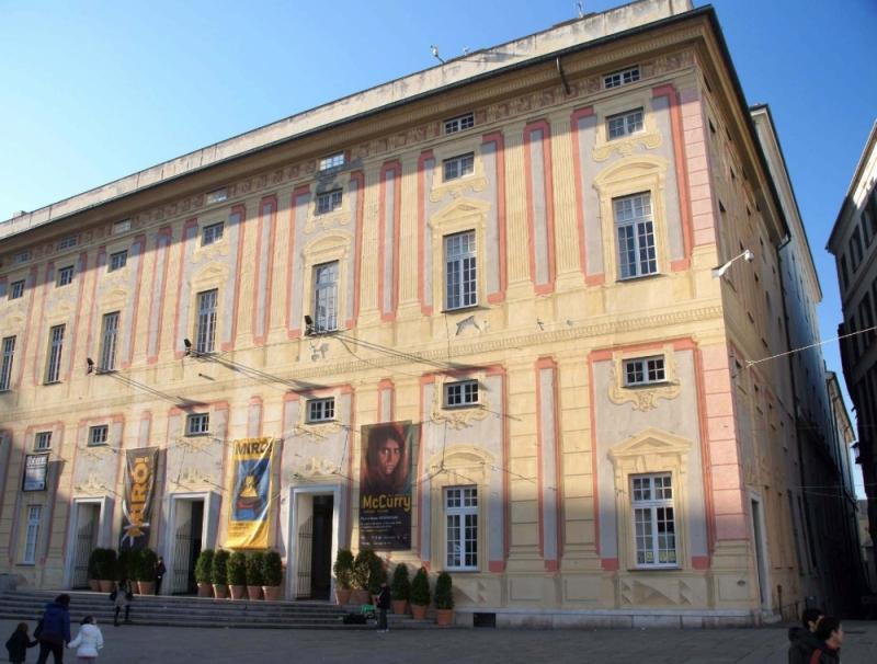 Der Palazzo Ducale ist heute eine Ausstellungshalle.